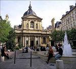 La Sorbonne, oldest University.
