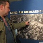 National Liberation Museum- Mitch shows us the location of our hotel on the photo in the museum